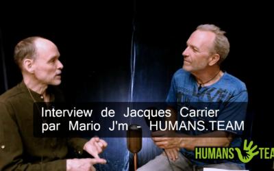 Interview de Jacques Carrier, auteur de PODIUMS pour HUMANS TEAM